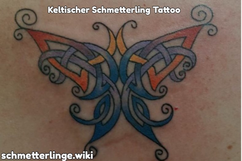 Keltischer Schmetterling Tattoo