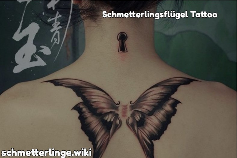 Schmetterlingsflügel Tattoo