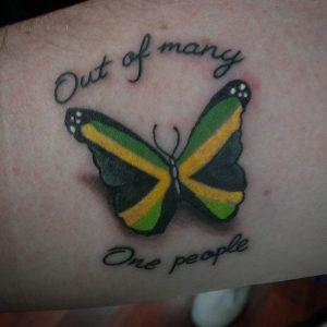 Bedeutet schmetterling tattoo was Schmetterling
