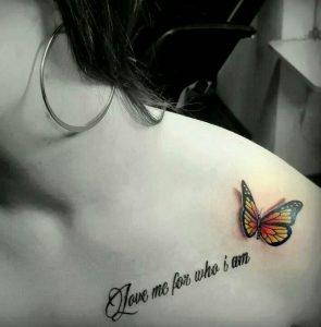 Wofür steht ein schmetterling tattoo